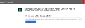 Adobe Connect Join